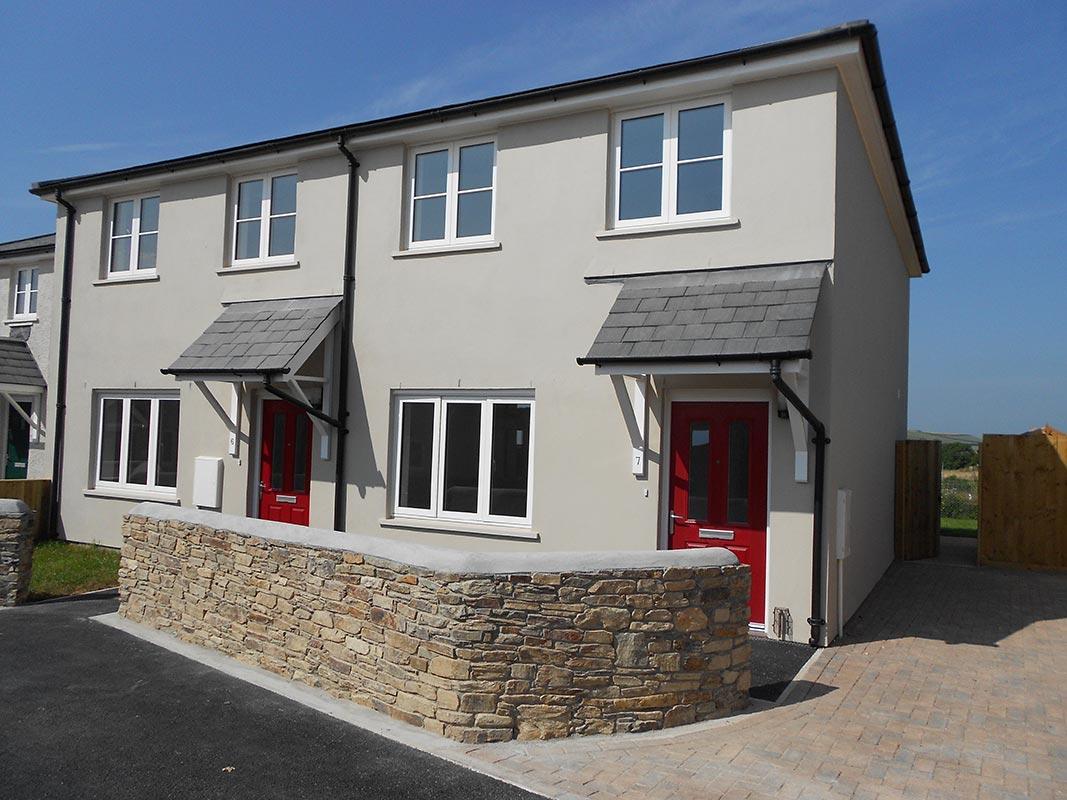 Seven houses at slapton near kingsbridge coyde for Kingsbridge house